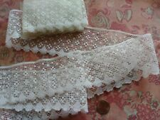 """2.25"""" wide French Antique Lace Valenncia Val Trim 3+ yards edging"""