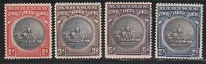 Bahamas   1930   Sc # 85-88(4v.)   MLH   OG   (55292)