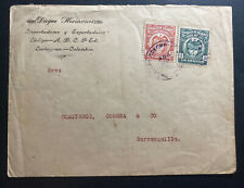 1918 Cartagena Colombia Commercial Cover To Barranquilla