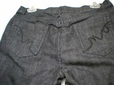 Alberto Makali Dark Cropped Jean, Cotton Blend, Mid-Rise,   Sz 8.  Ret. $118
