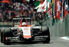 Will STEVENS SIGNED Brazil Photo Autograph Manor Marussia Driver F1 AFTAL COA