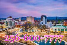 256 Easy Phone number 256-X00-7777 AMAZING VANITY business number ALABAMA