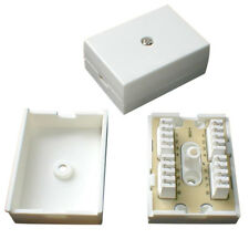 Pack of 4x 78A 4 Pair IDC Telephone Junction / Connection Box