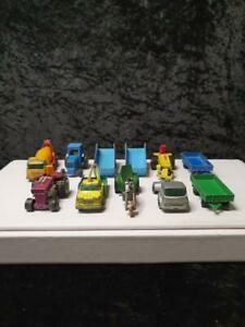 Matchbox Lesney inc Superfast Diecast BP Truck 1970's Bulk Lot 12