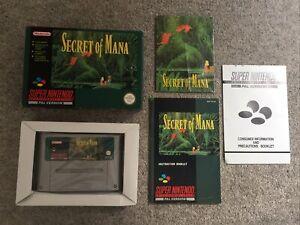Snes ~ Secret Of Mana ~ Super Nintendo
