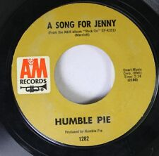 Rock 45 Humble Pie - A Song For Jenny / I Don'T Need No Doctor On A&M Records