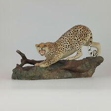 More details for beswick - connoisseur model of cheetah at the watering hole 2715 - 304 bsk