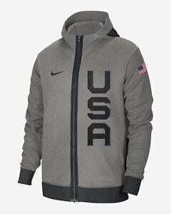 New Nike Team USA Basketball Olympic Showtime Thermaflex Hoodie Men's M NWT NBA