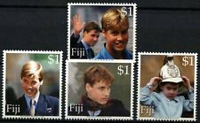 Fiji 2000 SG#1097-1100 Prince William 18th Birthday MNH Set #D75606