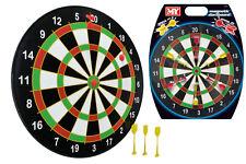 "Kids Magnetic Dart Board Dartboard Set 6 Darts Toy Party Game Safe Full Size 16"""