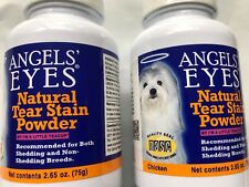Angels Eyes Natural Tear Stain Remover for Dogs 2.65 oz 150g CHICKEN FLAVOR