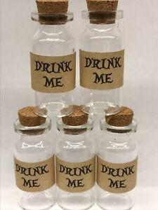 ALICE IN WONDERLAND DRINK ME BOTTLES  10ML