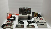 Nintendo NES Mega Set Console with Games, Multiple Controllers, all Tested