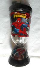 MARVEL-SPIDERMAN-Bicchiere Con Paglia-volume 275ml