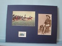 General Custer fights Jeb Stuart at Gettysburg honored by its own stamp