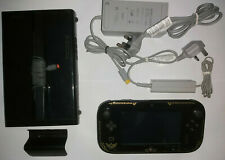 Nintendo Wii U 32GB Unboxed Black Console + RARE Limited Zelda Gamepad + Cables