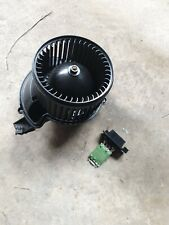 FIAT GRANDE PUNTO/evo heater motor blower fan, 2006-12, genuine fiat