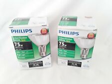Philips  PAR30L Halogen Spotlight Light Bulb TWO Bulbs Indoor/Outdoor