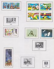 Brazil - Old Mint & Used Collection Part 7: 1988 to 1991, Mostly Mint (12 scans)
