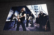 HELLOWEEN signed 8x11 inch autograph Photo InPerson in Germany LOOK