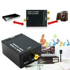 Optical Coaxial Toslink Digital to Analog Audio Adapter RCA Converter L/R B0M8
