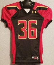 NCAA - NEW UNDER ARMOUR MARYLAND TERRAPINS FOOTBALL JERSEY BLACK - YOUTH BOYS M