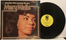 Mary Wells - Greatest Hits LP Record - My Guy - Import Great Britain NM