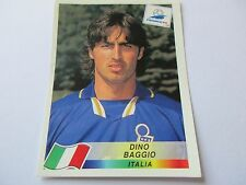 Sticker PANINI World Cup FRANCE 98 N°95 Italia Dino Baggio