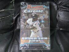2004 Bowman Chrome Baseball Factory Sealed Hobby Box (C) 18 packs / 4 cards