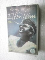 ELTON JOHN  THE VERY BEST VOL 1 CLAMSHEEL 1990 RARE orig CASSETTE TAPE INDIA