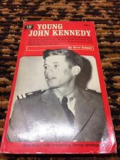 1963 Vintage YOUNG John F. Kennedy by GENE SCHOOR : EXCELLENT CONDITION
