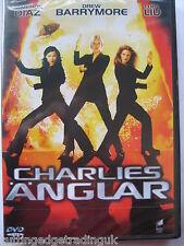 Charlie's Angels (DVD, 2002) NEW SEALED (Nordic Packaging) Region 2 PAL