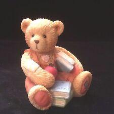 Cherished Teddies Birthday Bear September #914835  - Seth - School Days
