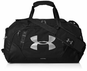 UNDER ARMOUR UNDENIABLE 3.0 DUFFEL BAG - Medium 61L- Black - New