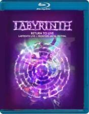 LABYRINTH RETURN TO LIVE BLU-RAY ALL REGIONS NEW