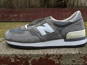 DS NEW BALANCE 990 30TH ANNIVERSARY GREY SUEDE sz 12 M990GRY kith 999