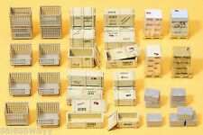Preiser 17110 palettes-caisses, KIT DE MONTAGE, H0
