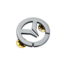 Overwatch Sign Metal Pin Brooch Badge Pendant Bags Decoration Bi-color Jewelry