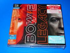 2016 DELUXE JAPAN DAVID BOWIE LEGACY VERY BEST OF SHM 2 CD SET