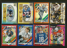 (17) RETIRED PLAYERS FOOTBALL INSERT & PARALLEL CARD LOT-AIKMAN-MANNING-ELWAY