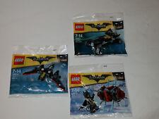 Dreierpack Sacchetti di Plastica - il Lego Batman Film 30522+30524 30521 - Nuovo