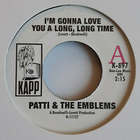 "Patti & The Emblems - Promo 7"" 1960s Funk & Soul"