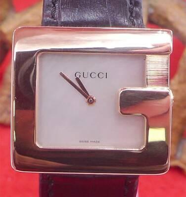 Original Gucci G 3600M Damen Uhr in 750 Gelbgold 1999