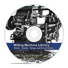Milling Machine Operation Guides, Screw Making, Jigs, Dies, Machinist CD DVD V45