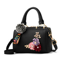 Summer Women bags Floral women's Leather handbag Fashion Elegant Shoulder b I8S7