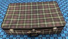 Belle ancienne valise rétro vintage H 19 L 74 l 46 cm #25