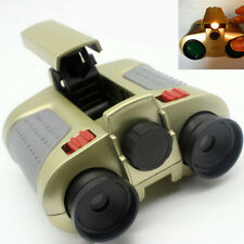 Surveillance Scope Night Vision Binoculars Telescope Up Light Toy Gift Kids y3