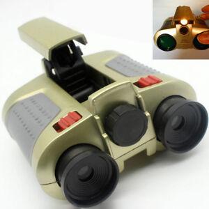 Surveillance ScopeNight Vision Binocular Telescope -Up Light Toy Gift Kid ^lk