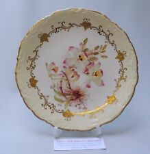 Vintage Moore Bros Plate - Orchid - c1888 - Made in England