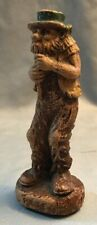 "Vintage Syroco Wood Figure ""Pete"" The Flute Player Antique"